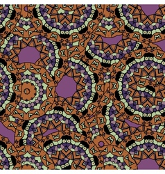 Abstract unusual mandala kaleidoscope symmetrical vector image