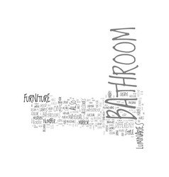 bathroom from over the moon part two text word vector image
