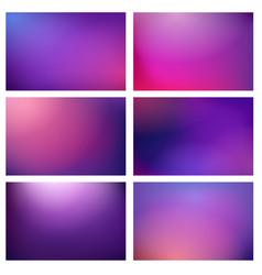 blur purple lights backgrounds vector image