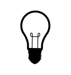 bulb idea innovation ilumination creative vector image