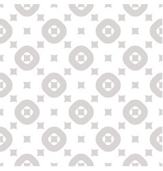 Geometric seamless pattern with small squares and vector