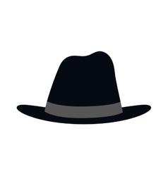 Hat icon male cloth design graphic vector image