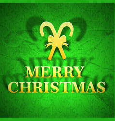 merry christmas bright template vector image
