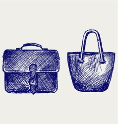 Bags vector image vector image