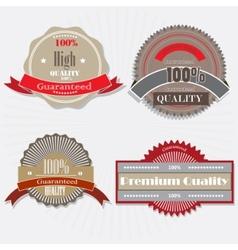 quality guarantee vector image