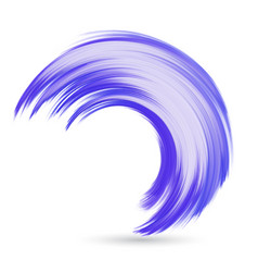 watercolour wave vector image vector image