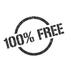 100 free stamp vector