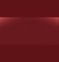abstract modern red background with corner lines vector image