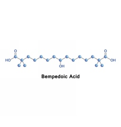 Bempedoic acid cholesterol lowering vector