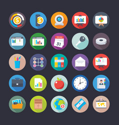 Business and office icons 16 vector