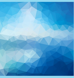 low poly abstract blue background consisting of vector image