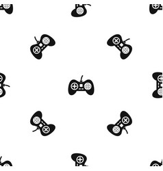 Video game console controller pattern seamless vector