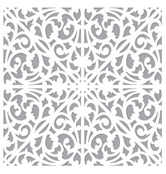 seamless pattern ornament decorate vector image