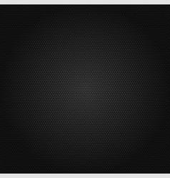 Black honeycomb background vector image vector image