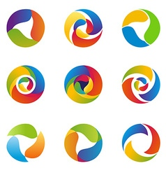 AbstractCircle vector image vector image