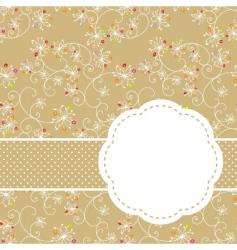 springtime seamless vector image vector image