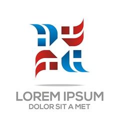 Abstract design element icon logo vector