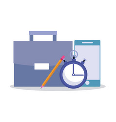 business and office technology vector image