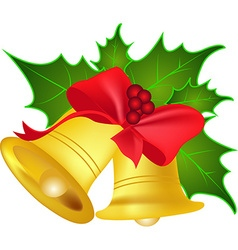 Christmas jingle bells vector
