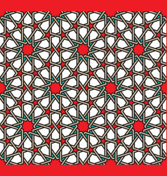 classical moroccan geometric seamless pattern vector image