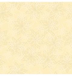 Light beige geometric texture with curls vector