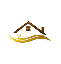 real estate logo home logo house logo simple vector image