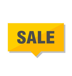 sale price tag vector image