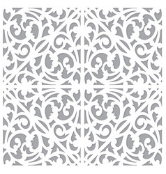seamless pattern ornament decorate vector image vector image