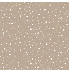 Snow kraft paper seamless pattern vector image vector image