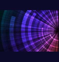 circle digital abstract background vector image vector image