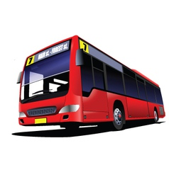 Double decker tours vector image vector image