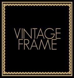 VINTAGE FRAME5 vector image vector image