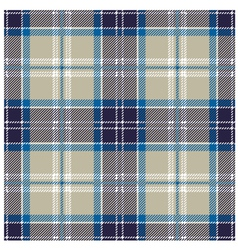 Blue Seamless Tartan Plaid Patter vector image