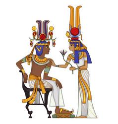 Egyptian hieroglyph and symbol vector