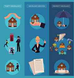 House insurance infographic poster vector