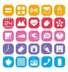 icon-simple-kecil vector image