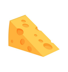 icon web cheese vector image