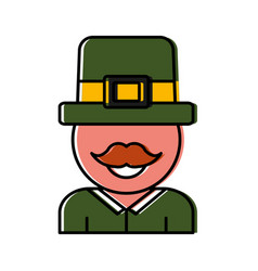 Irish hat design vector
