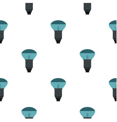Lamp with blue light pattern seamless vector