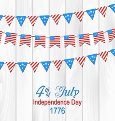 Party Wooden Background in Traditional American vector