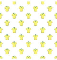 Men polo pattern cartoon style vector image vector image