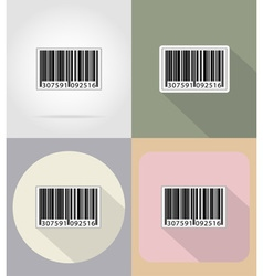 business and finance flat icons 15 vector image
