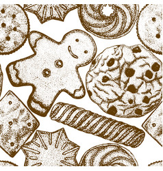 2302 cookies background vector