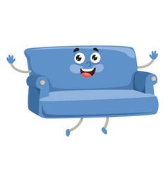 Cartoon armchair vector