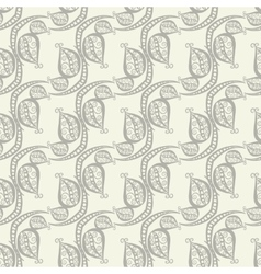 Doodle Leaf Backdrop vector image vector image