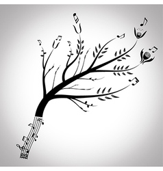 From music to nature vector image