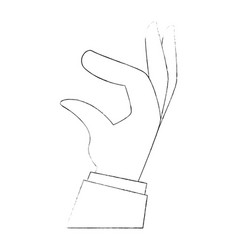 hand human taking icon vector image