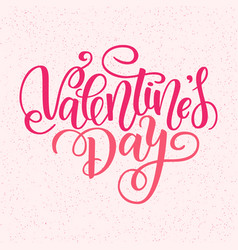 Happy valentines day card greeting card to vector