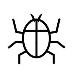 Insect icon Bug design graphic vector