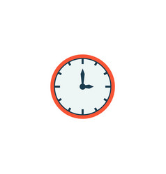 Time icon flat element of vector